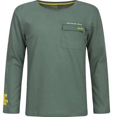 """Endo - """"Jestem częścią dzikiego świata"""" T-shirt z długim rękawem dla chłopca 9-13 lat C82G544_1"""
