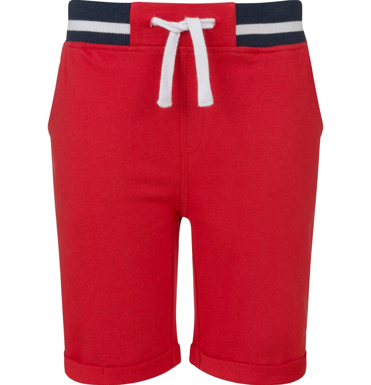 Endo - Krótkie spodenki dresowe dla chłopca, czerwone, 2-8 lat C03K004_2