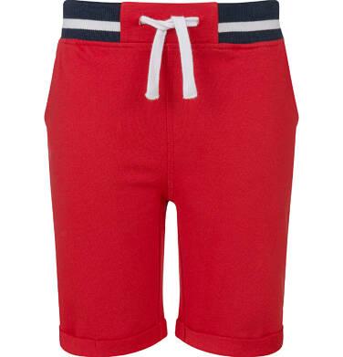 Endo - Krótkie spodenki dresowe dla chłopca, czerwone, 2-8 lat C03K004_2 3