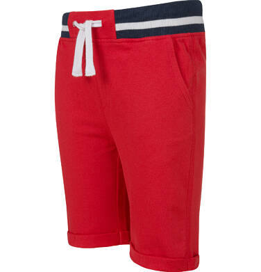 Endo - Krótkie spodenki dresowe dla chłopca, czerwone, 2-8 lat C03K004_2,3