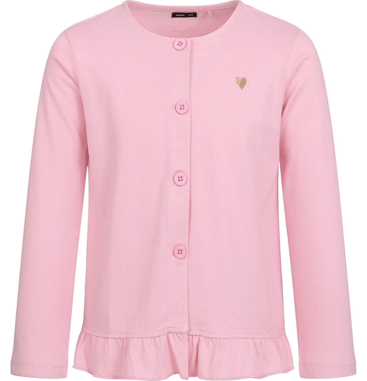 Endo - Bluza rozpinana dla dziewczynki, różowa, 2-8 lat D04C015_1