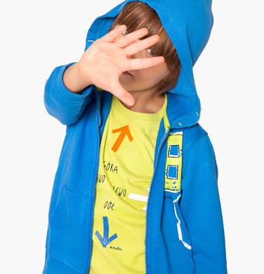 Endo - Bluza rozpinana z kapturem dla chłopca 3-8 lat C81C019_1
