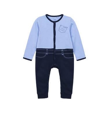Endo - Pajac dla dziecka do 3 lat, ważna osobistość, niebieski N82N016_1,1