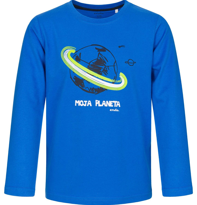 Endo - T-shirt z długim rękawem dla chłopca 9-13 lat C92G520_1