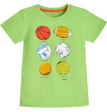 Endo - T-shirt z krótkim rękawem dla chłopca 9- 13 lat C81G600_2