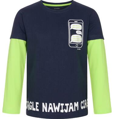 Endo - T-shirt z długim rękawem dla chłopca 3-8 lat C92G116_1