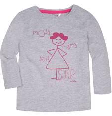 Endo - Lekko rozszerzana bluzka dla dziecka 2-4 lata N72G051_1