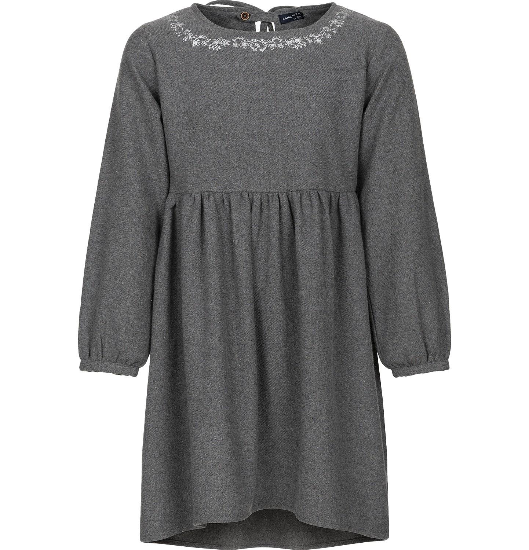 Endo - Sukienka z długim rękawem dla dziewczynki 3-8 lat D82H056_1