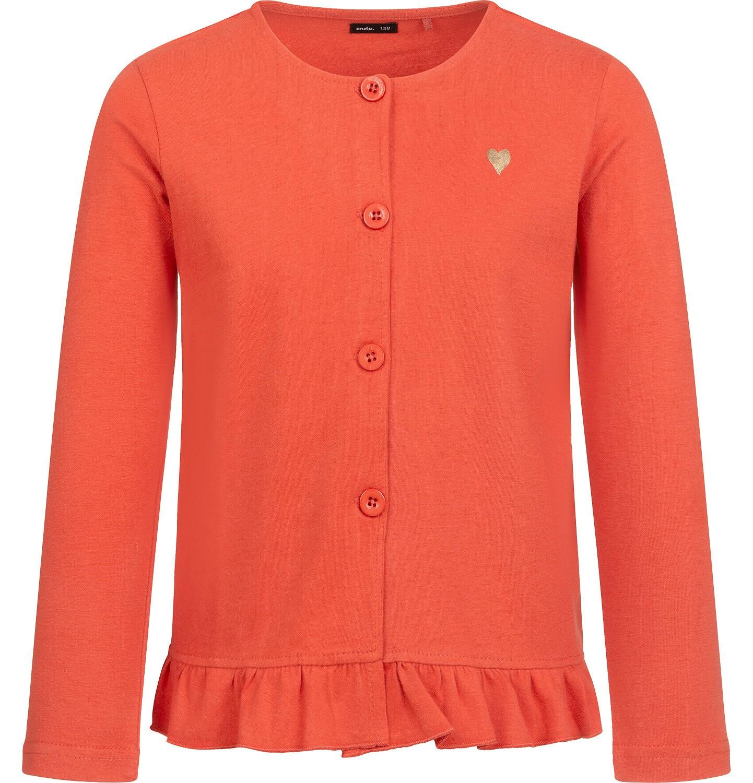 Endo - Bluza rozpinana dla dziewczynki, pomarańczowa, 2-8 lat D04C015_3