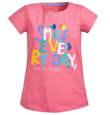 Endo - Bluzka z krótkim rękawem dla dziewczynki 3-8 lat D81G039_1