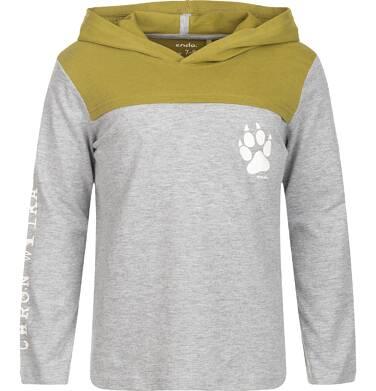 """Endo - """"Chroń wilka"""" T-shirt z długim rękawem dla chłopca 9-13 lat C82G548_1"""
