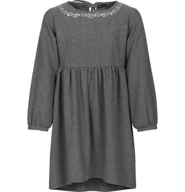 Endo - Sukienka z długim rękawem dla dziewczynki 9-13 lat D82H556_1