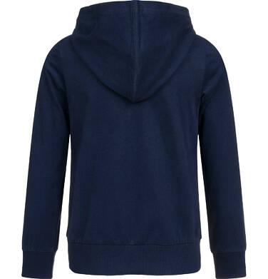 Endo - Bluza rozpinana z kapturem dla dziewczynki, granatowa, 2-8 lat D04C017_1 4