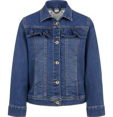 Kurtka jeansowa dla dziewczynki, 9-13 lat D03A512_1