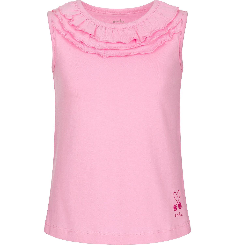Endo - Top na ramiączkach dla dziewczynki 9-13 lat D91G543_2