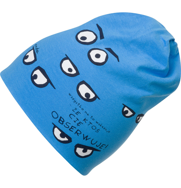 Endo - Czapka dla chłopca, niebieska C03R015_1