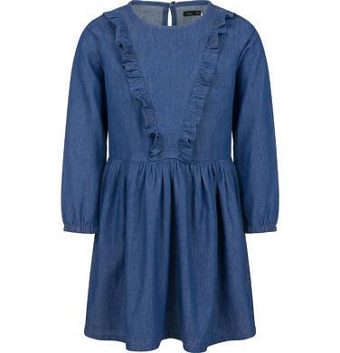 Endo - Sukienka jeansowa dla dziewczynki, 2-8 lat D03H063_1 24