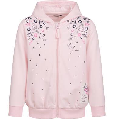Endo - Bluza rozpinana z kapturem dla dziewczynki, porcelanowa, 2-8 lat D04C024_1 4