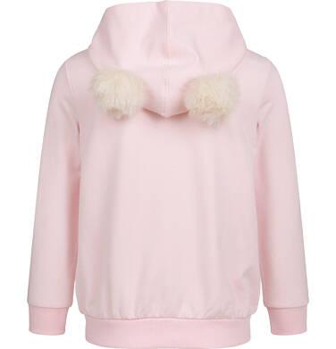 Endo - Bluza rozpinana z kapturem dla dziewczynki, porcelanowa, 2-8 lat D04C024_1 5
