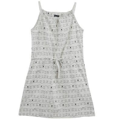 Endo - Melanżowa sukienka na ramiączkach dla dziewczynki D61H066_1