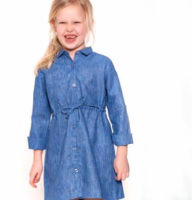 Endo - Sukienka z długim rękawem dla dziewczynki 9-13 lat D81H558_1