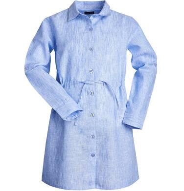 Endo - Sukienka z długim rękawem dla dziewczynki 3-8 lat D81H058_2