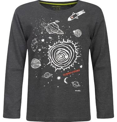 """Endo - """"Supernowa"""" T-shirt z długim rękawem dla chłopca 9-13 lat C82G563_1"""