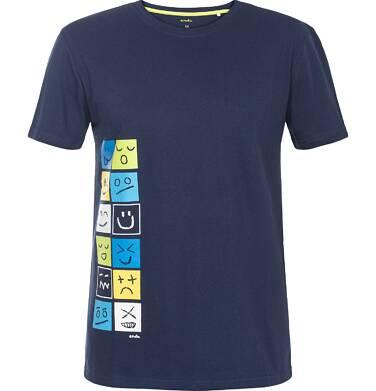 Endo - T-shirt męski z krótkim rękawem Q82G001_1