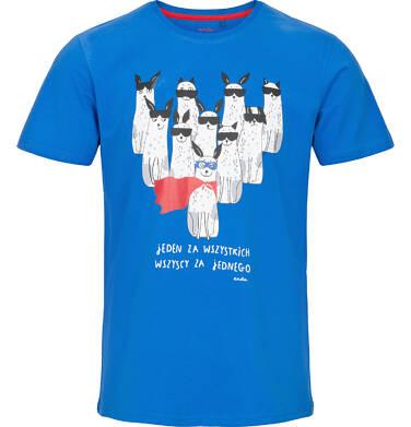 Endo - T-shirt męski z krótkim rękawem Q91G007_1