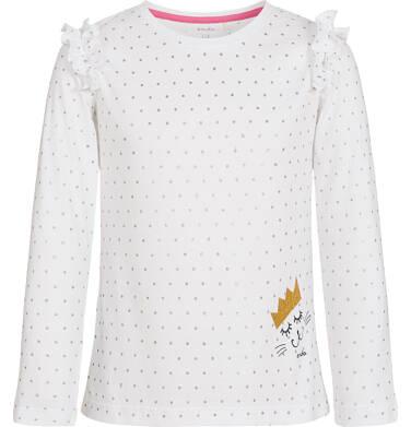 Endo - Bluzka z długim rękawem dla dziewczynki 3-8 lat D92G022_1