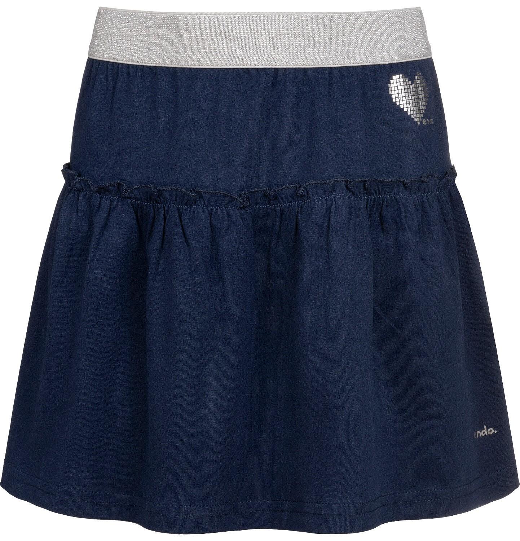 Endo - Spódnica dla dziewczynki, granatowa, 2-8 lat D04J006_1