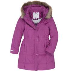 Endo - Długi zimowy płaszcz dla dziewczynki 3-8 lat D72A009_1