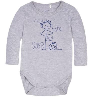 Endo - Body z długim rękawem dla dziecka od 1-24 m N72M031_1