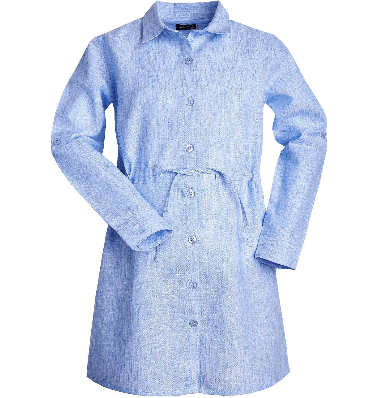 Endo - Sukienka z długim rękawem dla dziewczynki 9-13 lat D81H558_2