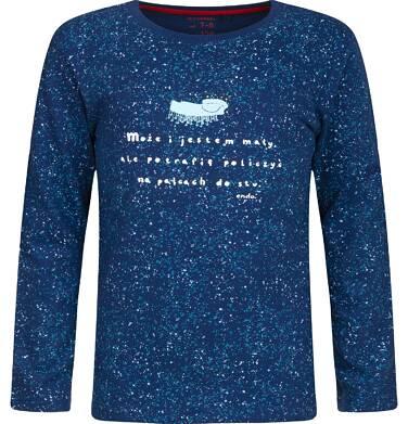 """Endo - """"Może i jestem mały, ale potrafię policzyć na palcach do stu."""" T-shirt z długim rękawem dla chłopca 9-13 lat C82G564_1"""