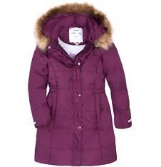 Endo - Długi zimowy płaszcz dla dziewczynki 3-8 lat D72A009_2