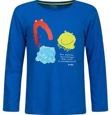 """Endo - """"Jak myślisz, czy istnieją inne ciała we wszechświecie?"""" T-shirt z długim rękawem 9-13 lat C82G565_1"""