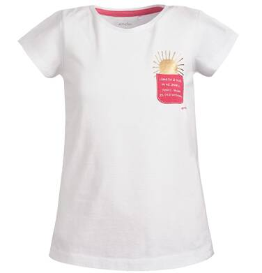 Endo - Bluzka z krótkim rękawem dla dziewczynki 9-13 lat D81G563_1