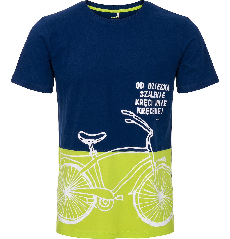 Endo - T-shirt męski z krótkim rękawem Q91G012_1