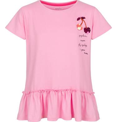 Tunika z kórtkim rękawem dla dziewczynki 3-8 lat D91G047_1