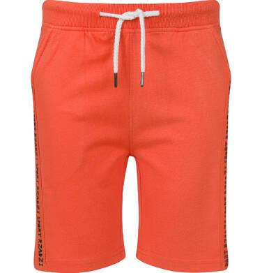 Endo - Szorty dla chłopca, pomarańczowe, 2-8 lat C03K009_2 1