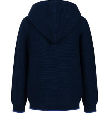 Endo - Sweter dla chłopca, z kapturem, granatowy, 2-8 lat C04B003_1 2