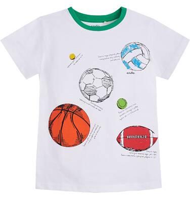 Endo - T-shirt z krótkim rękawem dla chłopca 9- 13 lat C81G611_1