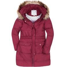 Endo - Długi płaszcz zimowy dla dziewczynki 3-8 lat D72A015_2
