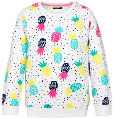 Bluza z długim rękawem dla dziewczynki 9-13 lat D91C507_1
