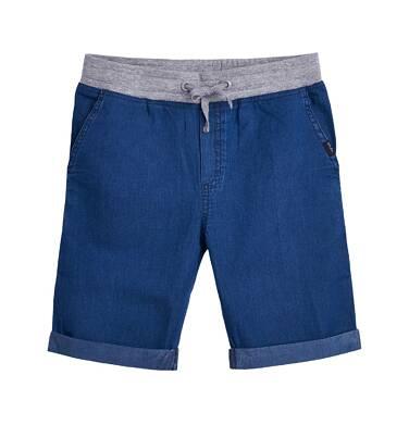 Endo - Krótkie spodnie dżinsowe dla chłopca 9- 13 lat C81K537_1