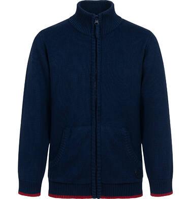 Endo - Sweter dla chłopca, ze stójką, rozpinany, granatowy, 2-8 lat C04B019_1 12