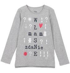 Endo - Bluzka z długim rękawem dla dziewczynki 3-8 lat D62G090_1