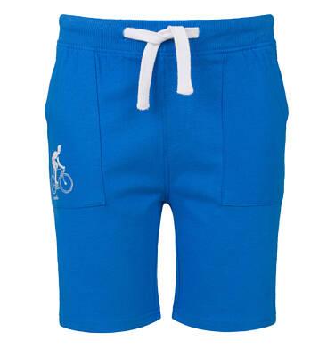 Endo - Szorty dla chłopca, motyw z rowerem, niebieskie, 9-13 lat C03K536_2