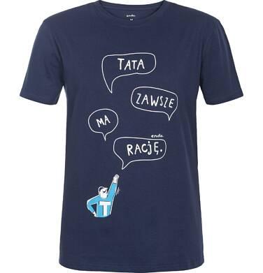 Endo - T-shirt męski z krótkim rękawem Q82G014_1